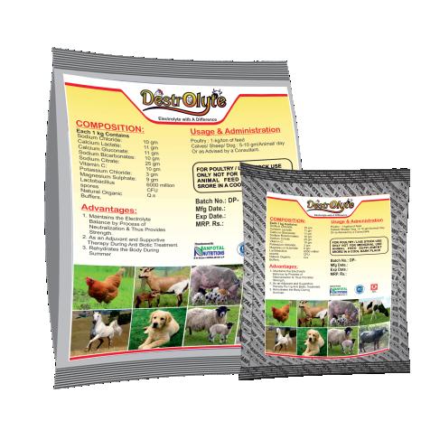 Electrolytes For Poultry | Electrolytes Mineral Premix